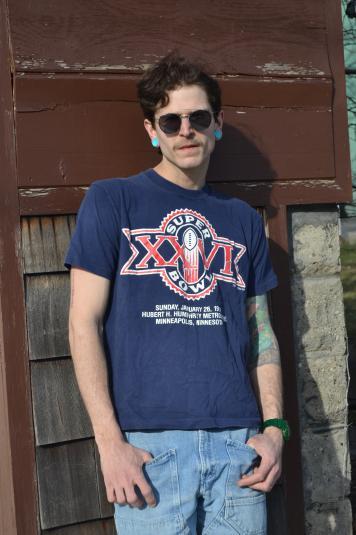 Way Sweet Vintage 1992 Super Bowl XXVI tshirt