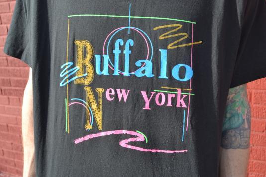 Way Awesome Vintage 90's Buffalo, New York T-Shirt