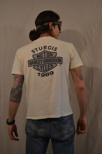 Rockin' 1989 Sturgis Harley Davidson T-Shirt HOG