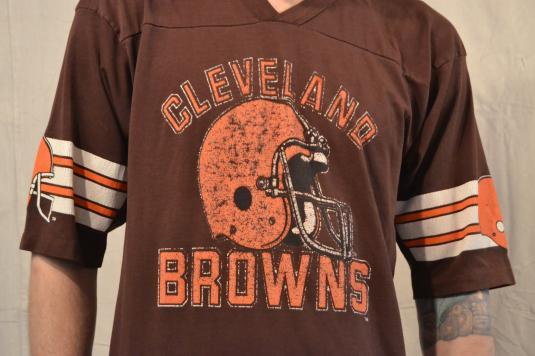 Big Time Baller Vintage Cleveland Browns Jersey Style Tshirt