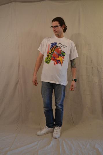 Wild Vintage 80's Cedar Point Roller Coaster T-Shirt