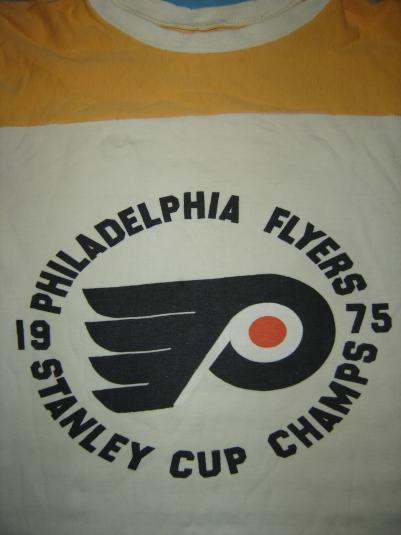 Philadelphia Flyers Stanley Cup Winning Shirt, 1975