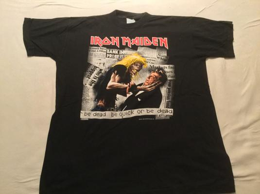 Iron Maiden – be quick or be dead T Shirt 1992