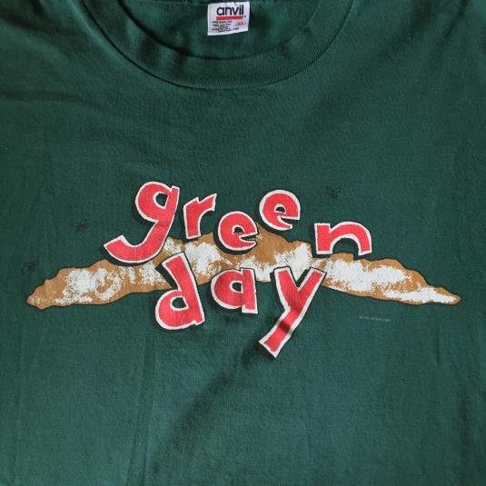 Green Day- Dookie 1994 Euro Tour Shirt