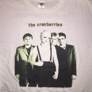The Cranberries- No Need To Argue '95 Tour Shirt
