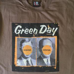 Green Day- Nimrod 1998 Tour Shirt
