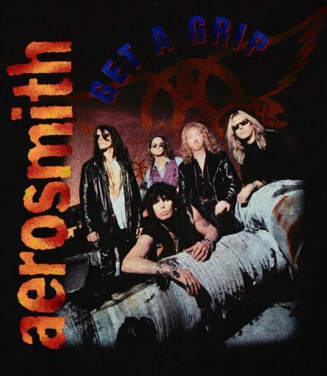 Aerosmith World Tour 1994 Get A Grip Tee Shirt