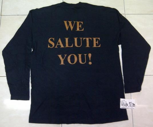 """Vintage ACDC """"For Those About To Rock,We Salute You"""" 1999 LS"""