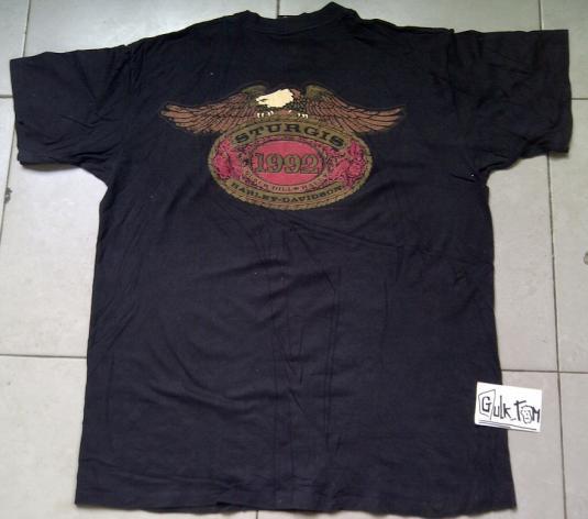 Vintage Sturgis Harley Davidson 1992