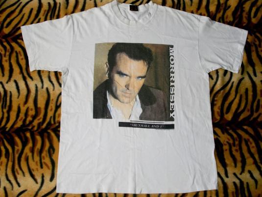 "Morrissey 'Vauxhall And I"" Album promo 1994 T-shirt"