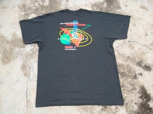 VINTAGE SUPER MARIO BROS 1980s NINTENDO GAMES T-SHIRT