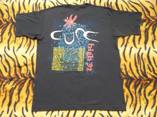 VINTAGE THE CURE 1992 TOUR T-SHIRT