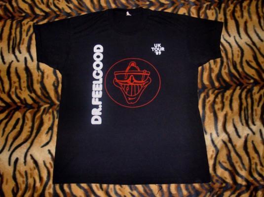 Dr. Feelgood Uk Tour 1989 T-shirt