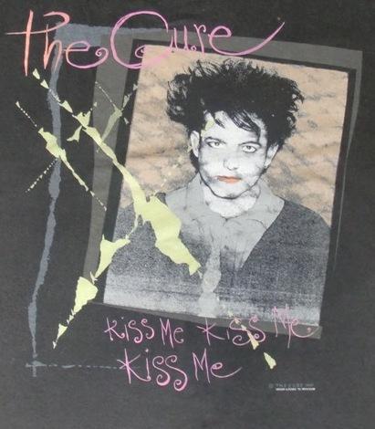VINTAGE THE CURE 1987 PROMO ALBUM T-SHIRT