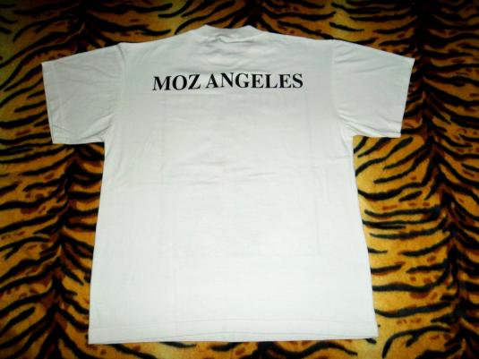 VINTAGE MORRISSEY 1990s MOZ ANGELESPROMO TOUR T-SHIRT
