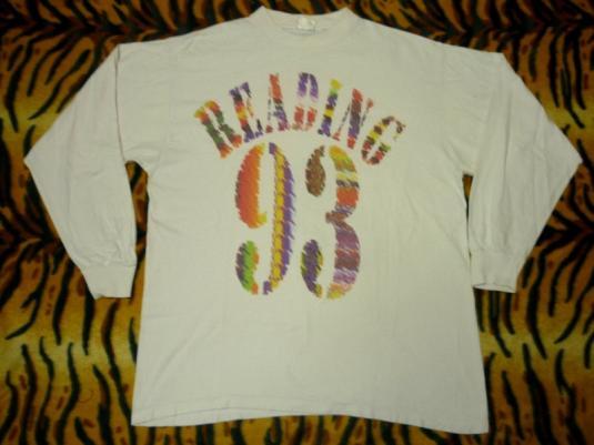 Reading Festival 1993 T-shirt