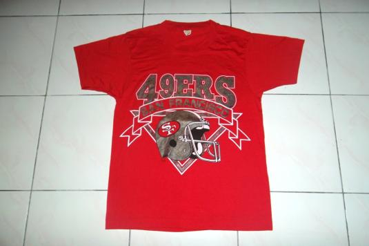 Vintage San Francisco 49ERS NFL 1980s T-shirt