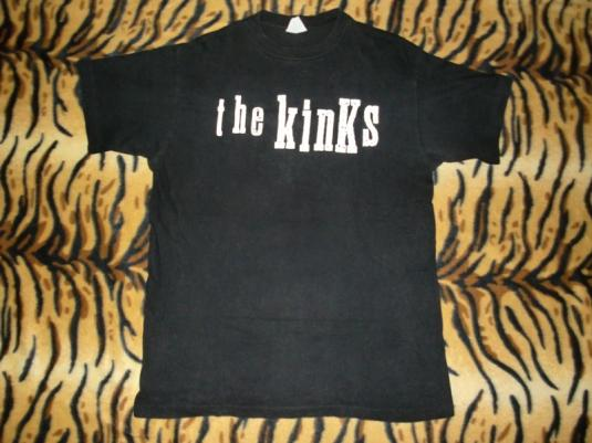THE KINKS JAPAN 1993 TOUR T-SHIRT