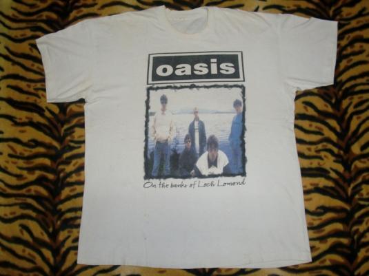 OASIS 1996 LOCH LOMOND CONCERT T-SHIRT