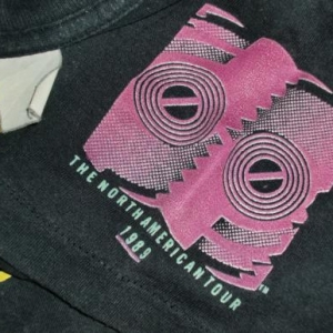 Rolling Stones Mick Jagger 1989 Promo Tour T-shirt