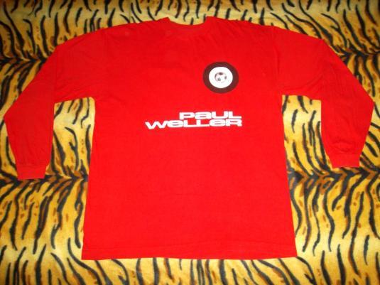 VINTAGE PAUL WELLER THE JAM 1992 TOUR T-SHIRT