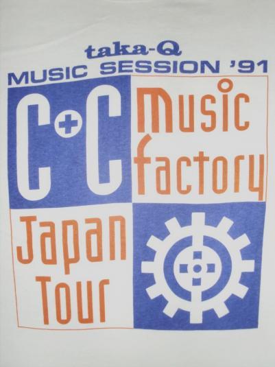VINTAGE C&C MUSIC FACTORY T-SHIRT
