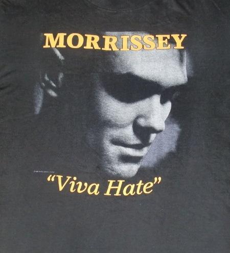 Vintage Morrissey 1988 Viva Hate promo T-shirt