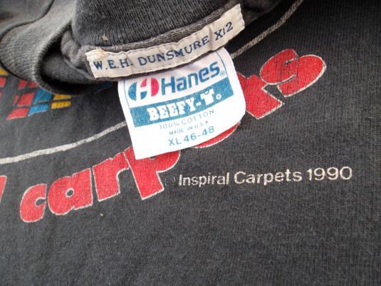 Vintage 1990 Inspiral CarpetsPromo Tour T-shirt