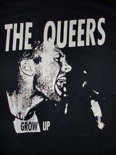 Deadstock The Queers Lookout Records 1994 Promo T-shirt