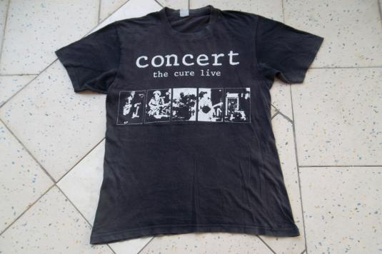 Vintage The Cure Live Concert 1980s T-shirt