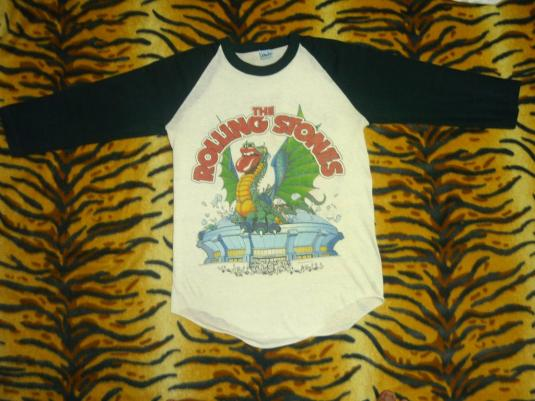 The Rolling Stones 1981 Jersey T-shirt