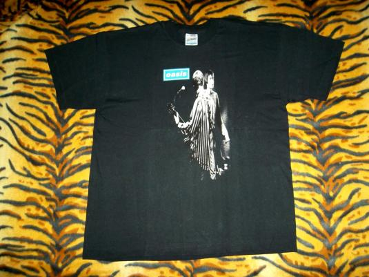 OASIS NOEL & LIAM GALLAGHER EARLY 90s CONCERT TOUR T-SHIRT
