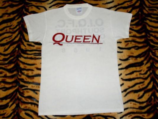 QUEEN FAN CLUB 1988 T-SHIRT