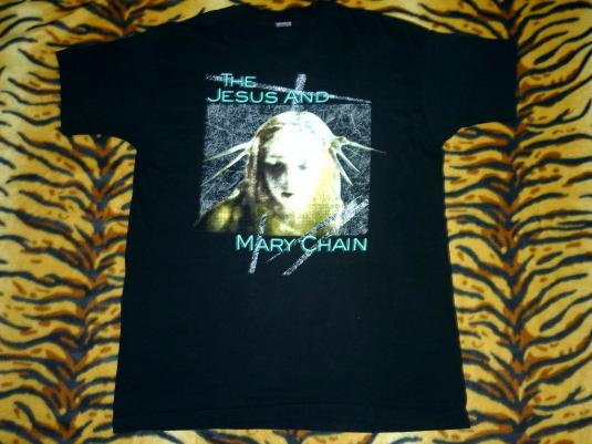 THE JESUS AND MARY CHAIN 1992 HONEY'S DEAD T-SHIRT