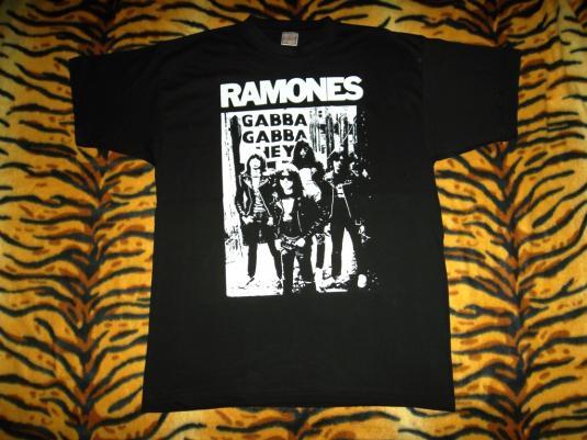 RAMONES 80s T-SHIRT