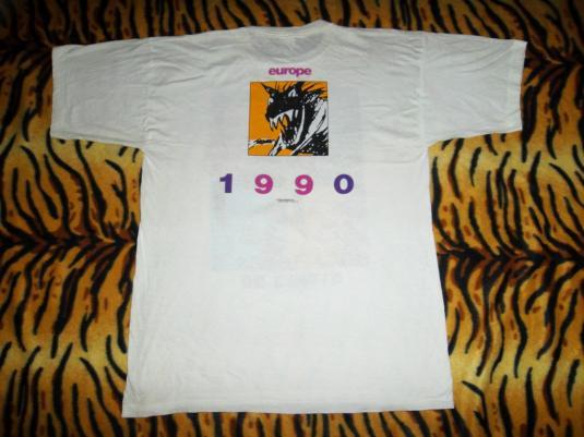 VINTAGE THE ROLLING STONES 1990 URBAN JUNGLE TOUR T-SHIRT
