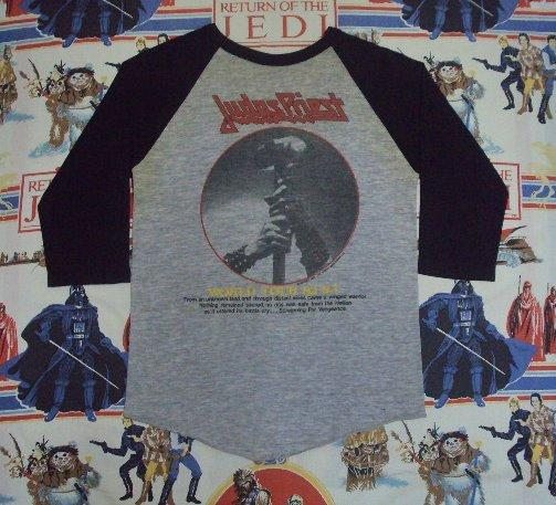 Vintage 1983 JUDAS PRIEST Screaming Vengeance Tour Jersey