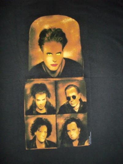 VINTAGE THE CURE DEADSTOCK 1992 T-SHIRT