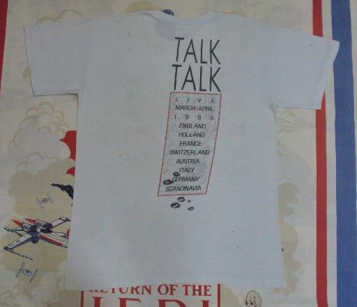 VINTAGE 1986 ENGLISH NEW WAVE TALK TALK T-SHIRT