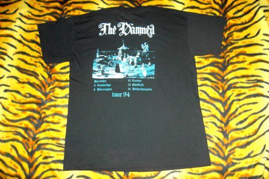 VINTAGE THE DAMNED 1994 UK TOUR T-SHIRT