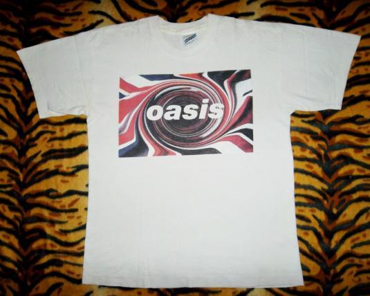 VINTAGE OASIS 1994 GLASTONBURY CONCERT TOUR T-SHIRT