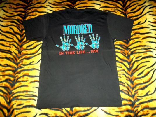 VINTAGE MORDRED 1991 PROMO T-SHIRT