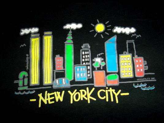 Vintage 1980s NEW YORK CITY Travel T-shirt