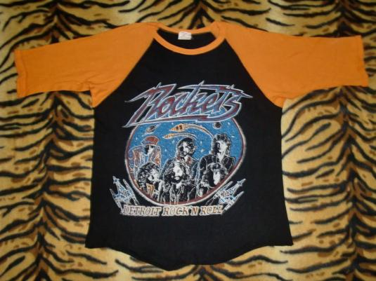 VINTAGE 70'S THE ROCKETS JERSEY T-SHIRT