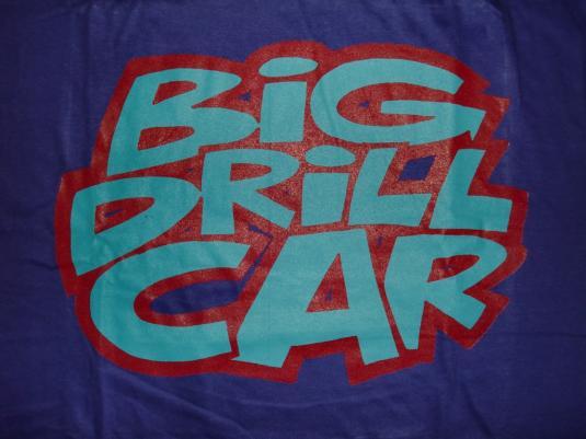 VINTAGE DEAD STOCK BIG DRILL CAR T-SHIRT