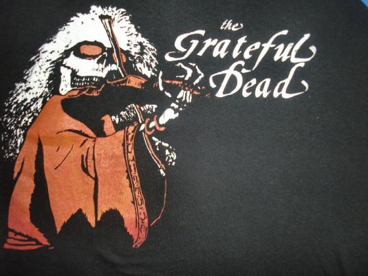 VINTAGE EARLY 80'S GRATEFUL DEAD JERSEY T-SHIRT