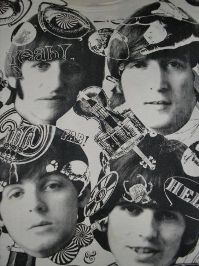VINTAGE 1991 THE BEATLES LOST ALBUM T-SHIRT