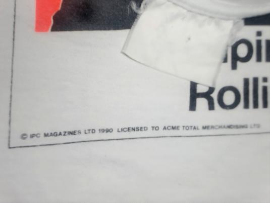 THE ROLLING STONES 1990 NME COVER 1968 T-SHIRT