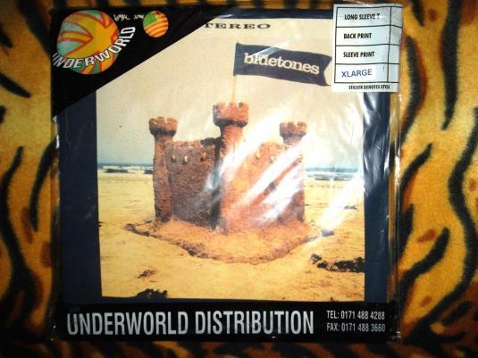 VINTAGE THE BLUETONES 1996 CUT SOME RUG/CASTLE ROCK T-SHIRT