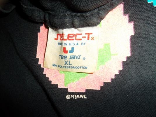 Vintage PIL Public Image Limited 1989 tour concert T-shirt